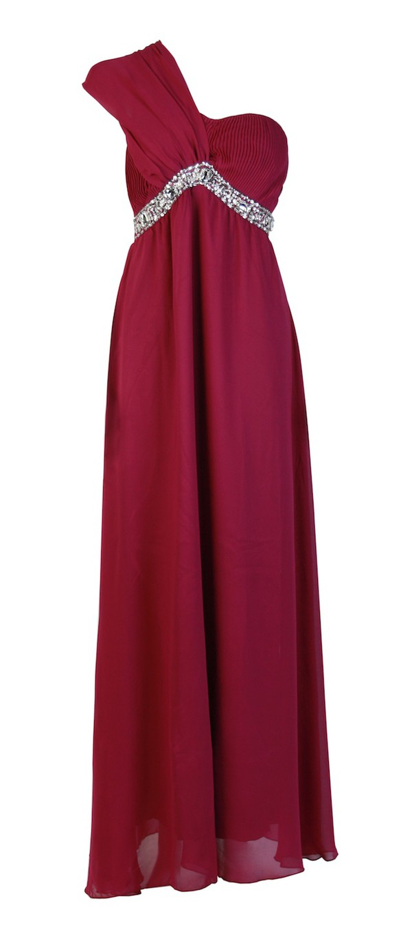 prom dress prom dress embellished dress crystal burgundy burgundy long dress one shoulder dress chiffon dress lined dress apparel womens dresses womens one shoulder dress elegant fashionblogger blog ootd outfit party prom evening outfits classy dinner dance birthday