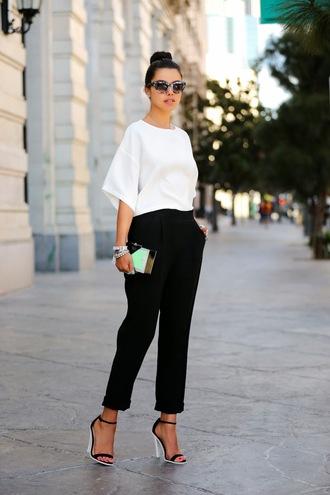 viva luxury shoes t-shirt sunglasses pants bag jewels nail polish top