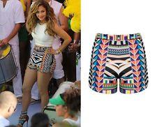 Tribal High Waisted Shorts | eBay