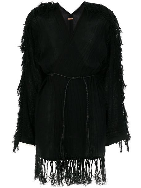 Caravana cardigan cardigan women leather cotton black sweater