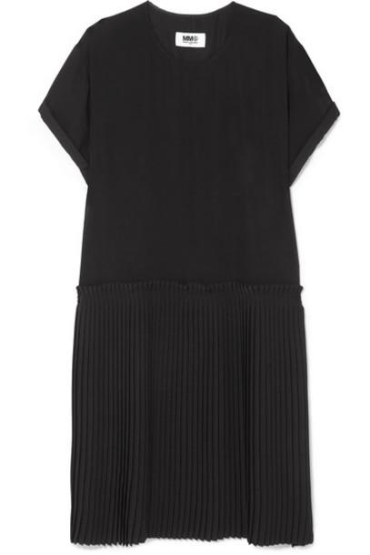 Mm6 Maison Margiela dress pleated black