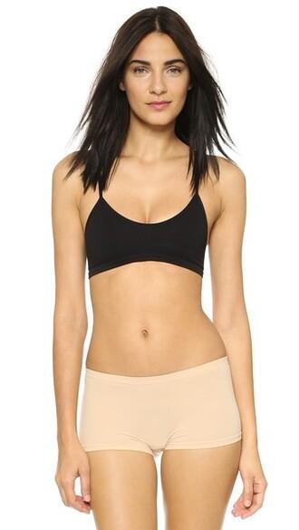 bra back baby black underwear