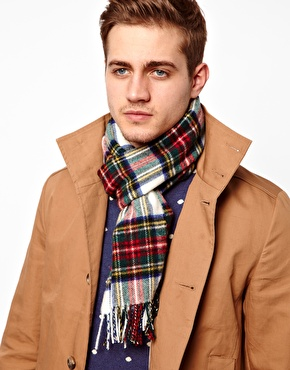 Johnstons | Johnstons Plaid Scarf at ASOS