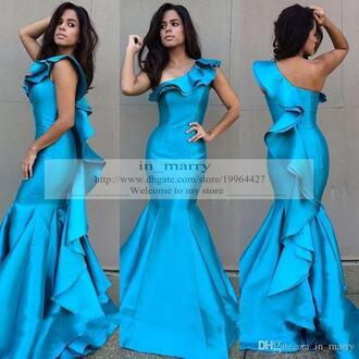 dress long satin evening dresses plus size evening dresses arabic evening dresses royal blue prom dresses mermaid prom dress one shoulder evening dresses mermaid evening dress 2015 evening dress