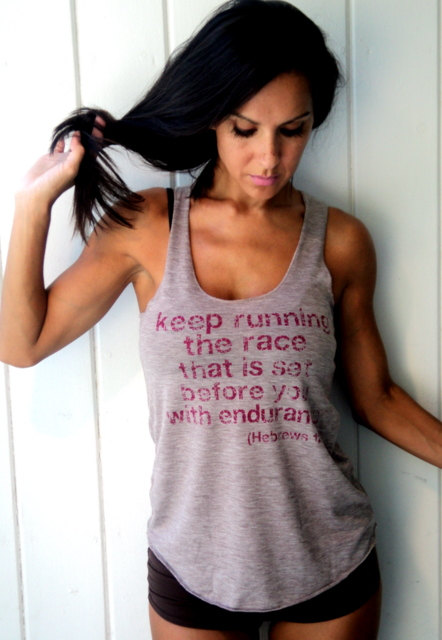 Keep Running the Race that is Set Before by FiredaughterClothing
