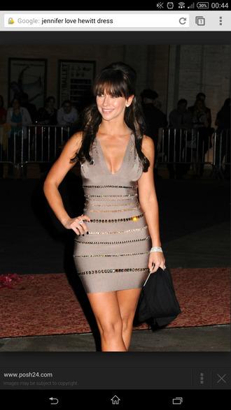 jennifer love hewitt dress celebrity style bodycon dress