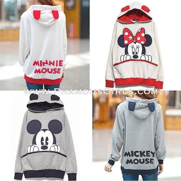 sweater minnie mouse mickey mouse