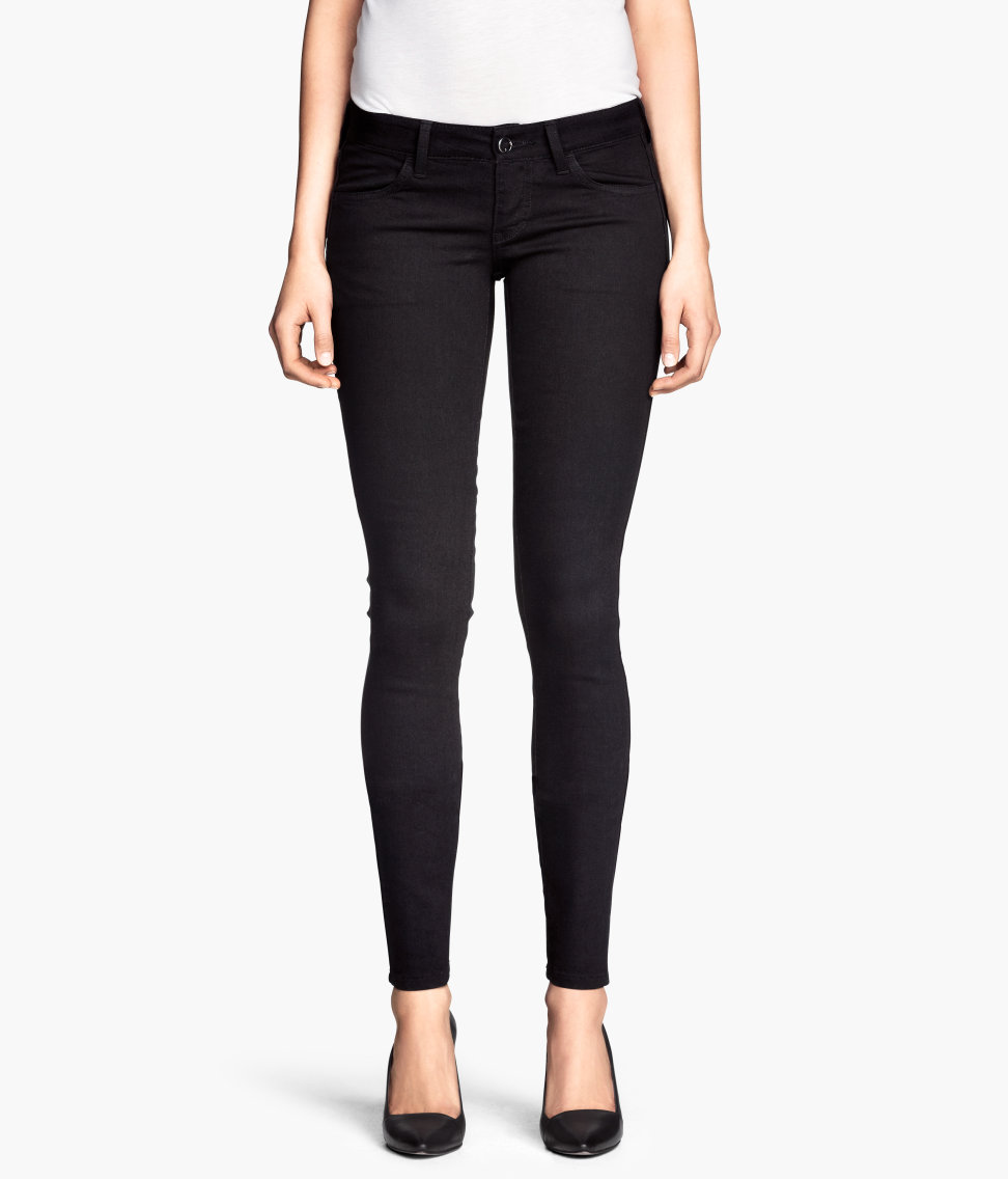 H&M Skinny Low Jeans $9.95