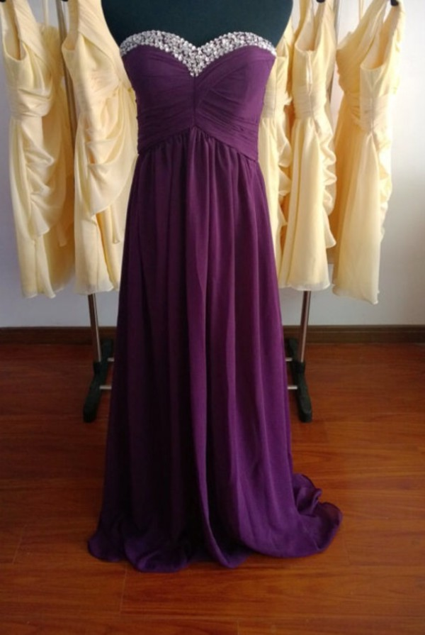 promsdress strapless dress purple dress prom dress prom gown prom dress prom dress