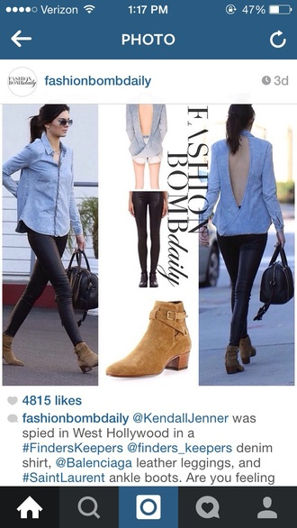 kendall jenner backless shoes