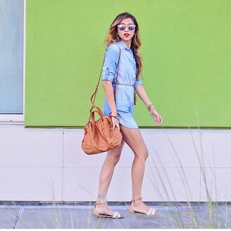 dress denim jeans long sleeves button up shirt dress fall outfits instagram blogger trendyish