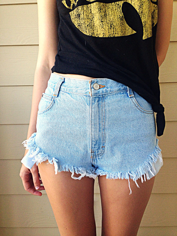 Think, that High waisted cut off jean shorts happiness!