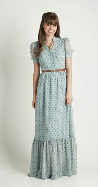 dress maxi dress boho dress cute dress chic chiffon dress chiffon shopping g shopping lovely moddeal