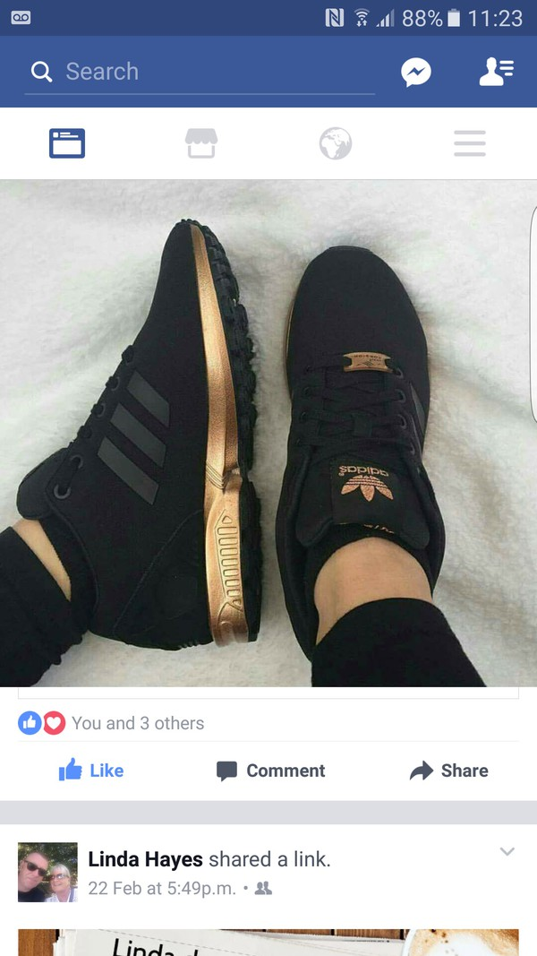 1060303996735 womens adidas zx flux core black copper rose gold bronze s78977 limited  edition