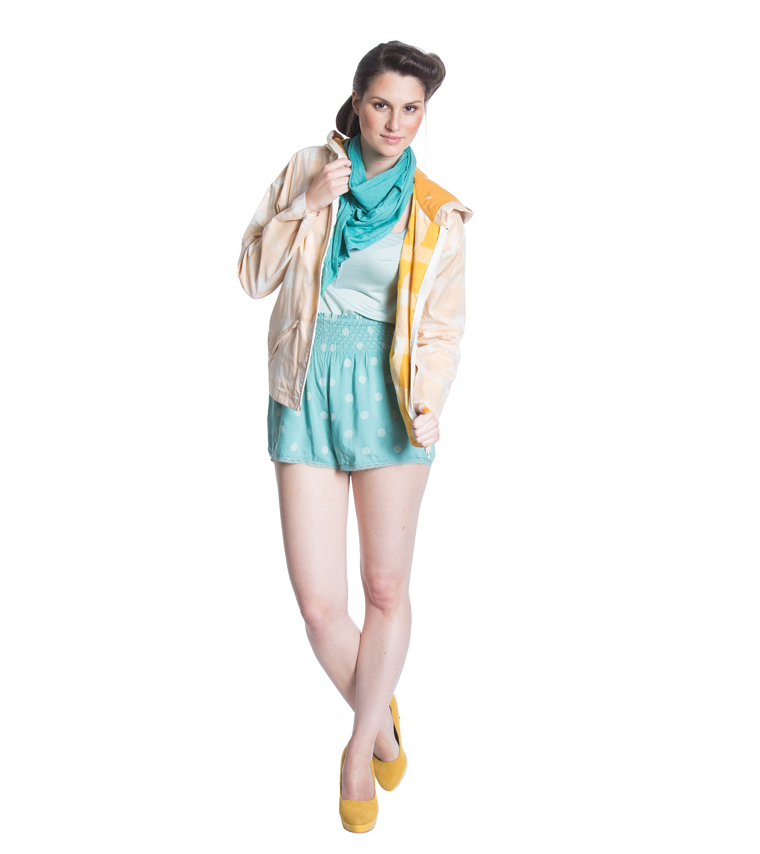 Blutsgeschwister | posh panache shorts fresh dots | M
