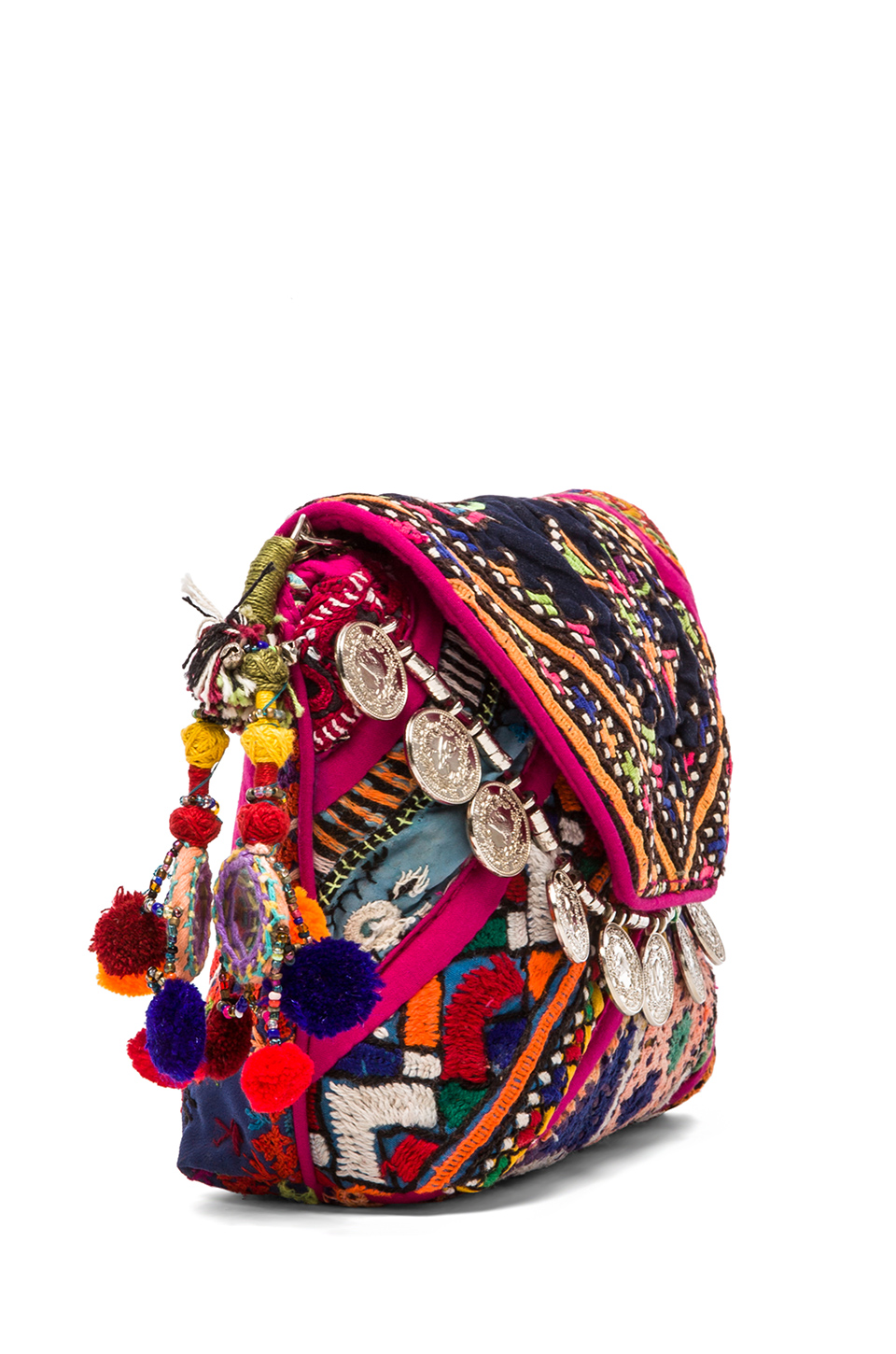 Gypsy 05 Pushkar Clutch in Fuchsia | REVOLVE