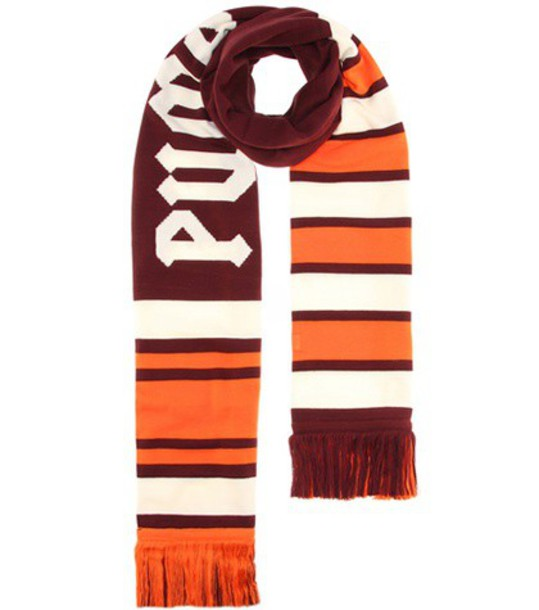 FENTY by Rihanna varsity scarf striped scarf