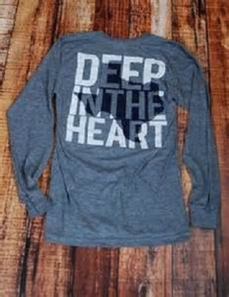 shirt texas grey sweater