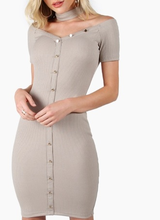 dress girly nude nude dress bodycon dress bodycon