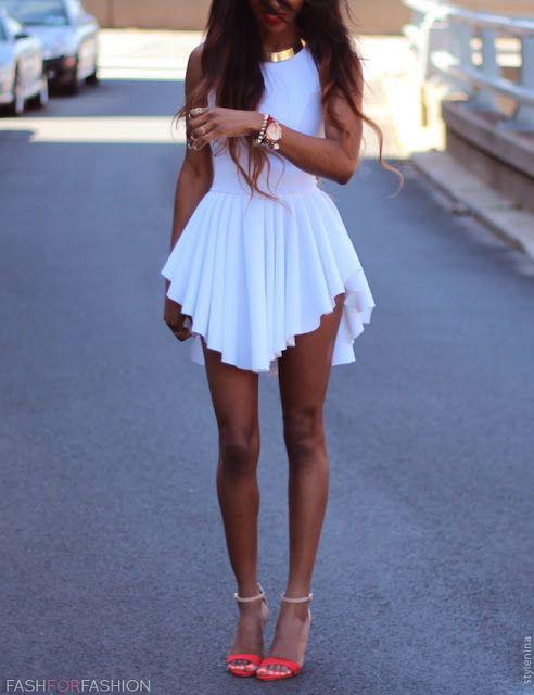 Back zipper dress