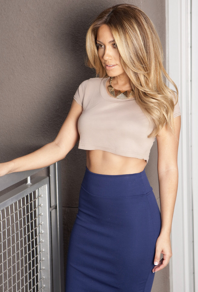 Royal Pencil Skirt - Sailor and Saint - Online Clothing Boutique