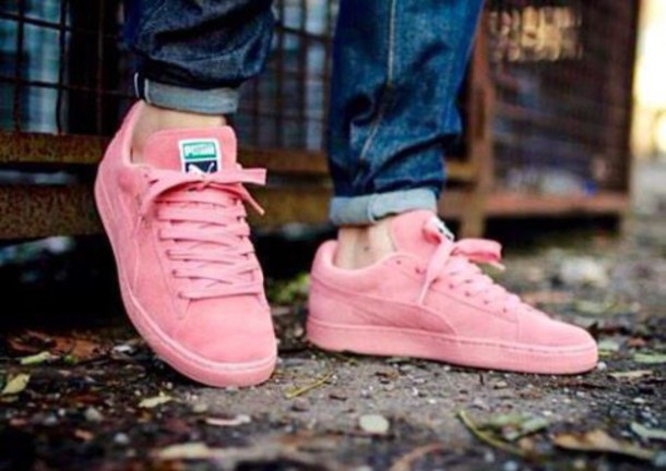 the best attitude 5a7b8 f2a93 Puma Suede Classic Shoes - Pastel Pink