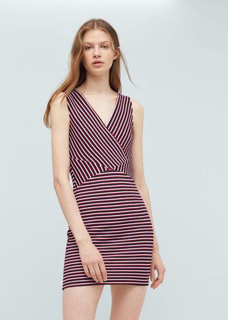 dress bodycon dress bodycon stripes striped dress