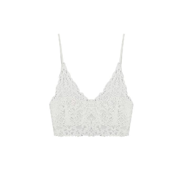 White lace bralet / back order – holypink