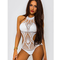 Bohemia white crochet monokini pre order - from the fashion bible uk