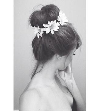 jewels hipster flower crown flower hat hair accessories