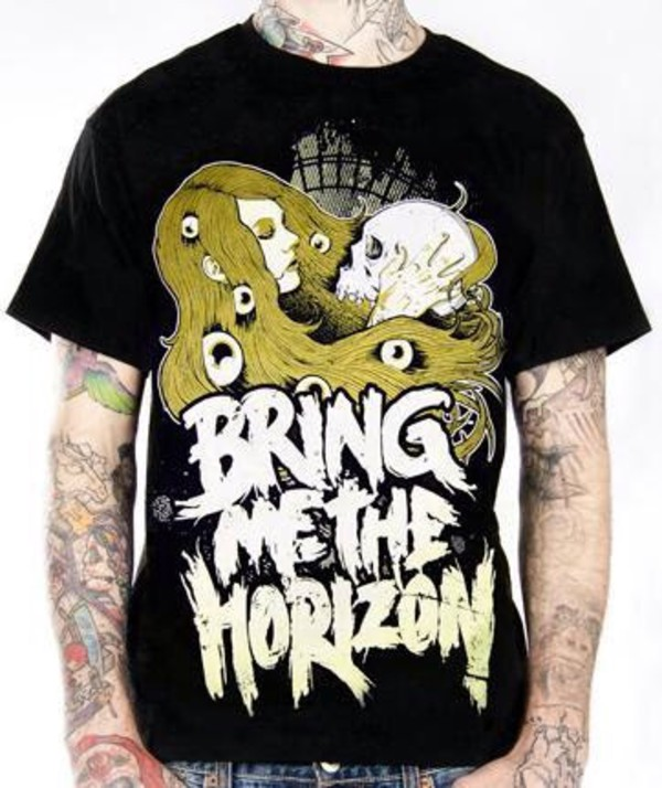 bring me the horizon boy vans boy band t-shirt mine ebay
