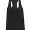 Cotton racer back tank top