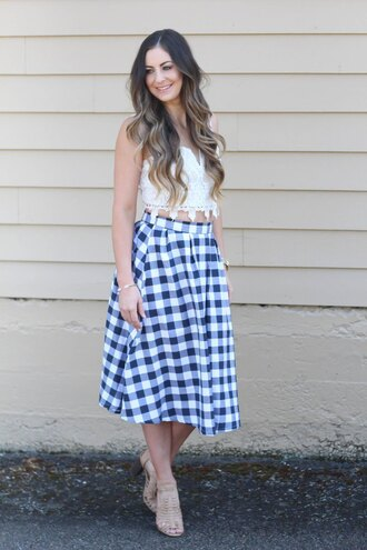 looks like rein blogger skirt top shoes bag jewels