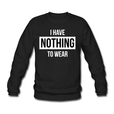 I have nothing to wear pullover