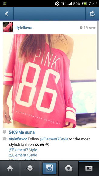 pink pink and white cute shirt t-shirt pink skirt 86 t shirt