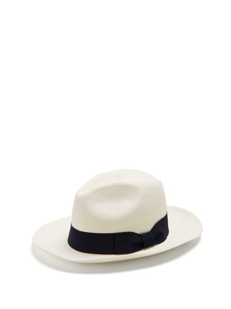 Sensi Studio hat straw hat white