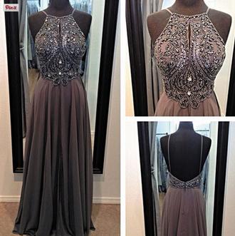 dress grey prom dress long prom dress grey dress long dress chiffon prom dress vestidos de fiesta