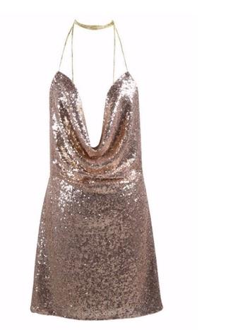 dress sequins mini dress new year's eve short birthday dress with choker choker necklace shiny