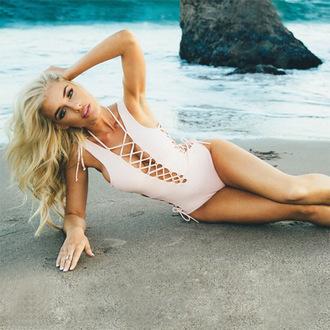 swimwear girl girly girly wishlist white strappy strappy bikini one piece swimsuit one piece white sweater sexy bikini
