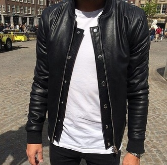 jacket black jacket menswear