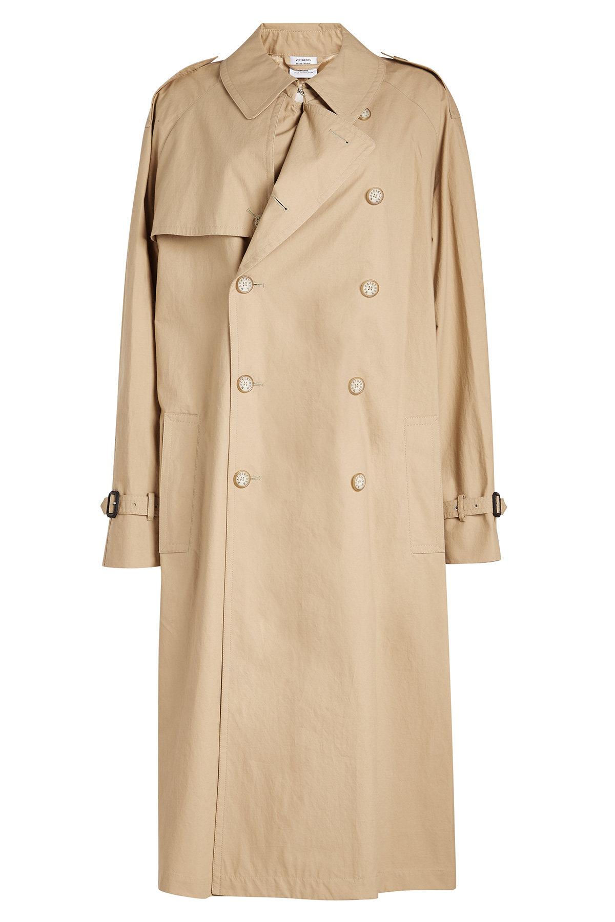 Vetements - x Mackintosh Oversized Trench Coat