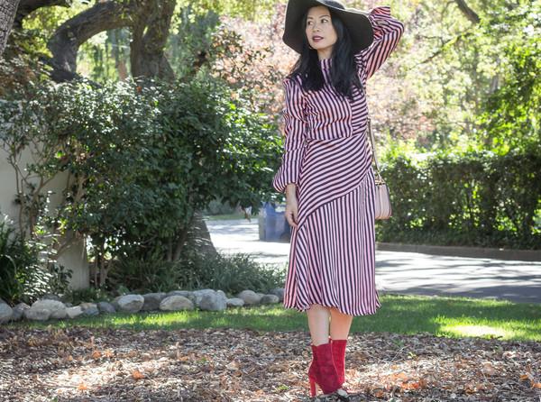 mamainheels blogger dress shoes bag hat