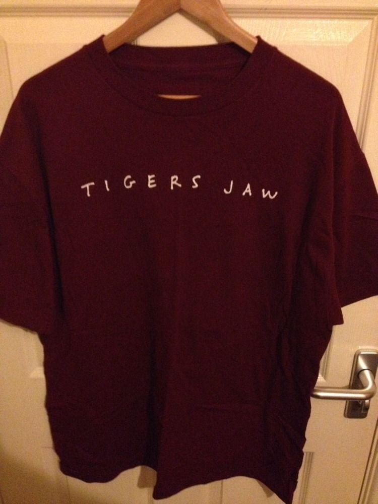 Wonderful Basement T Shirts Part - 10: Tigers Jaw T Shirt Run For Cover Emo Basement Turnover Citizen Daylight    EBay