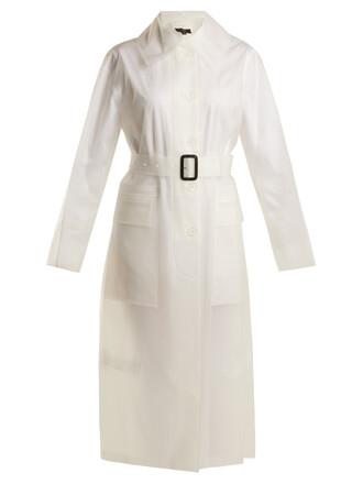 coat long white