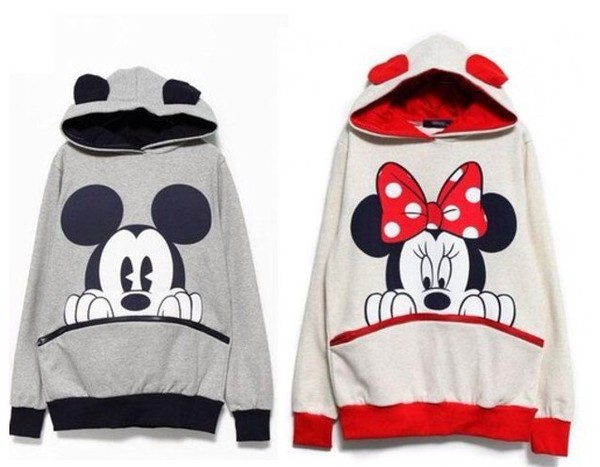 jacket mickey mouse jumper hoodie sweater