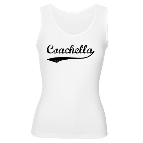 Coachella - Vintage Women's Tank Top by californiatowns