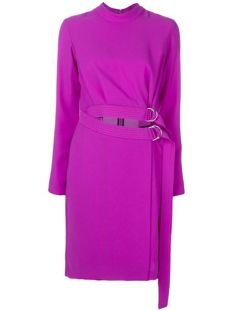 Carven dress women purple pink
