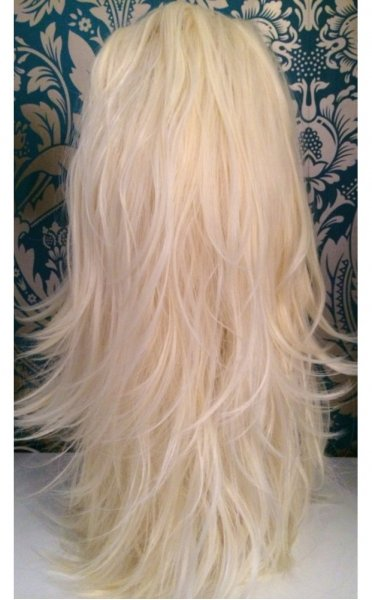 Pure Blonde Double Volume 17/17 Reversible Hair Piece - from The ...