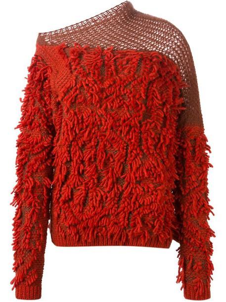 sweater yellow orange