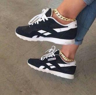 shoes black reebok black and white nike nike sneakers sneakers
